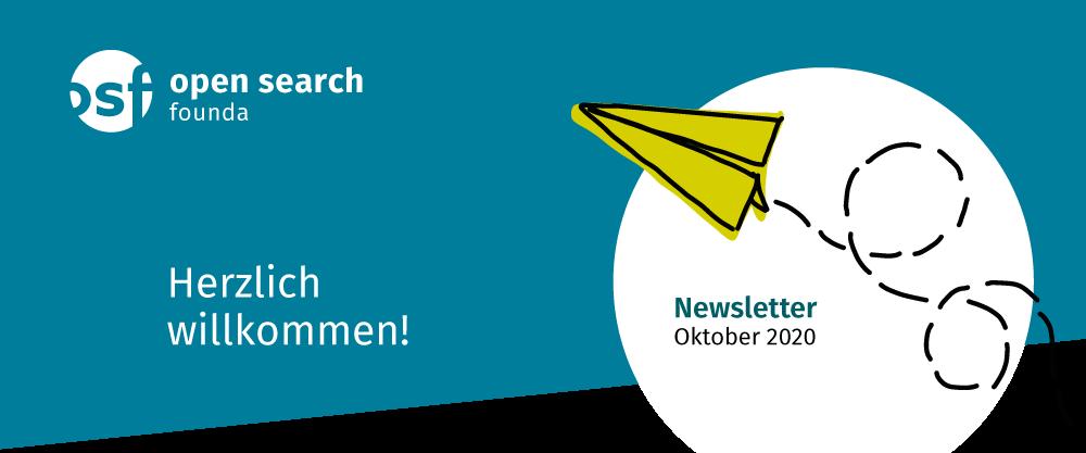 Herzlich Willkommen! Newsletter October 2020